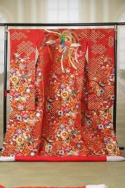 手織花菱鳳の舞