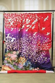 手刺繍 梅花朝