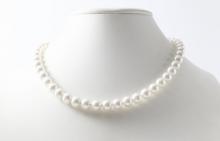 オーロラ花珠 アコヤ真珠です。