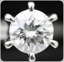 ダイヤ 1カラットオバーの婚約指輪