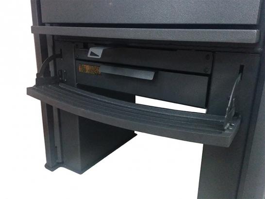 ネオ1.6 空気調整レバーと灰受皿