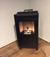新築住宅にトヨトミのペレットストーブ「PE-8」を設置しました!