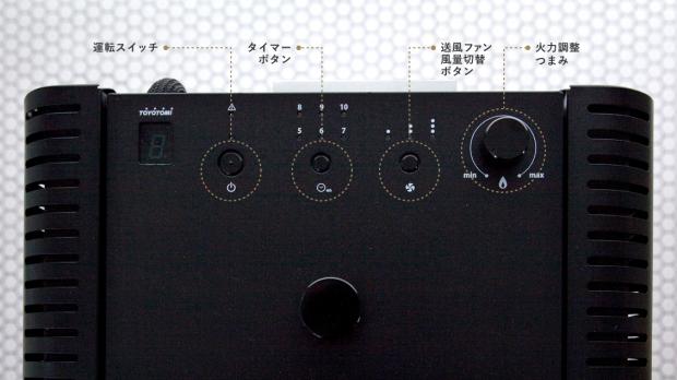 トヨトミ PE-6 mimi タイマーは入も切もできるようになりました!