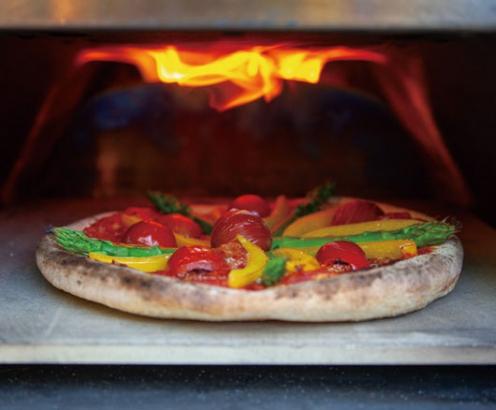 ポータブルピザオーブンKABUTO ピザが焼けるまで約2分!!